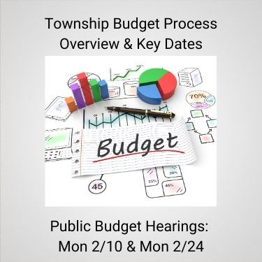 Township Budget Process Overview and Key Dates