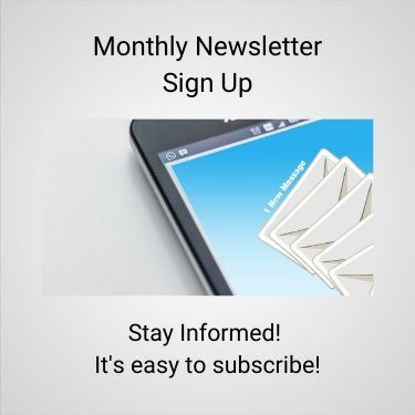 Monthly Newsletter Sign Up news flash