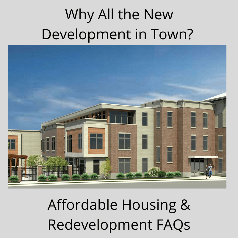 Redevelopment & Affordable Housing FAQs