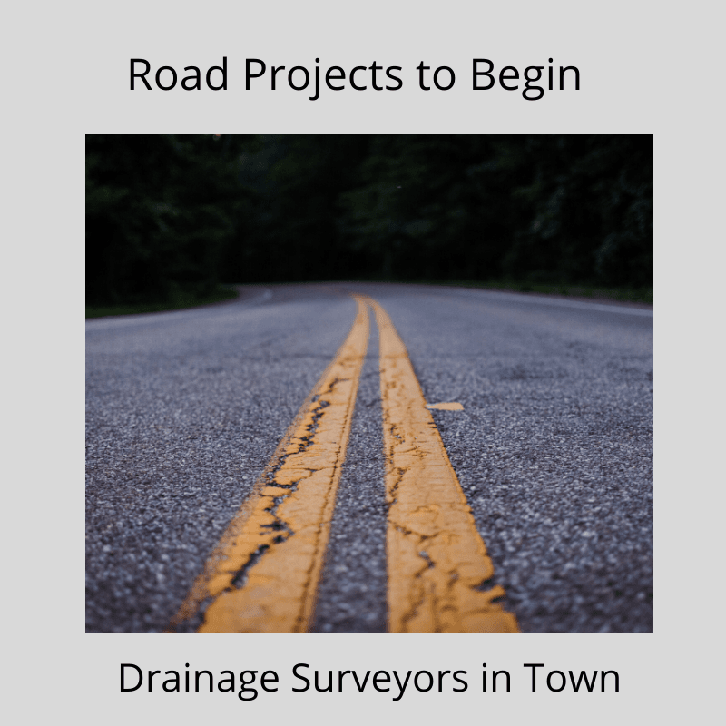 Road Projects to Begin