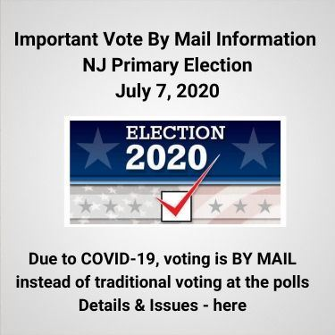 Vote By Mail Information Primary Election July 7, 2020