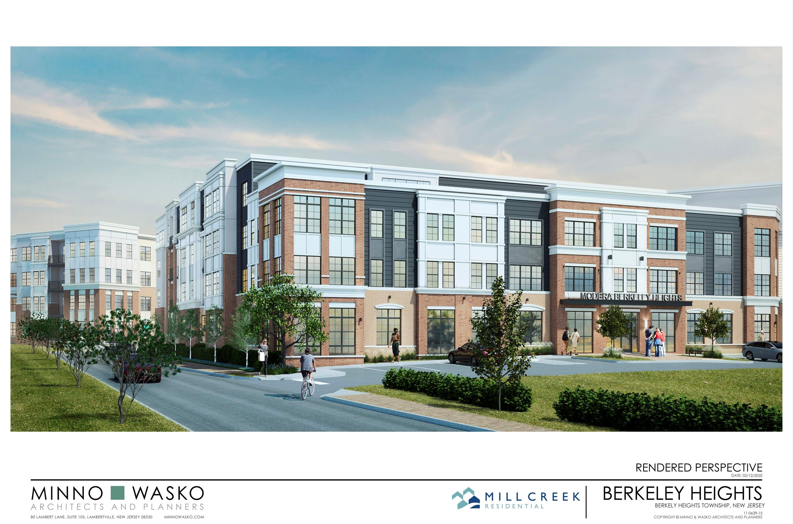 Berkeley Heights rendering